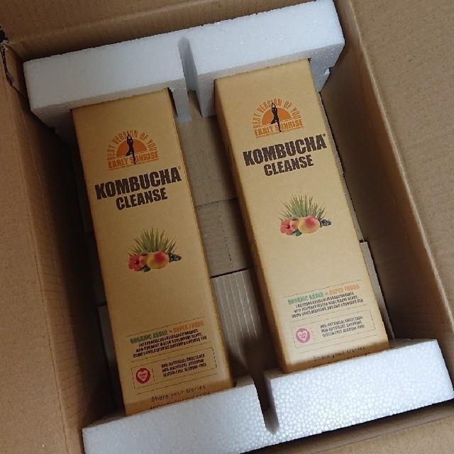 コンブチャクレンズ  〈2本セット〉 コスメ/美容のダイエット(ダイエット食品)の商品写真