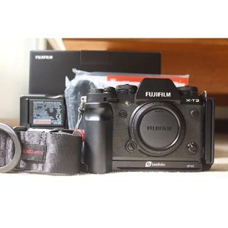 富士フイルム - FUJI FILM X−T3 BLACK ボディ 元箱付き・付属品多数
