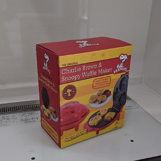 スヌーピー(SNOOPY)のチャーリー・ブラウン&スヌーピー ワッフルメーカー(調理機器)