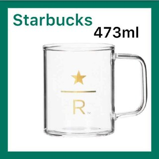 Starbucks Coffee - スターバックス リザーブ 耐熱グラスマグ 473ml