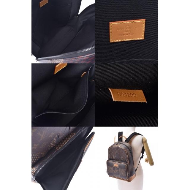 LOUIS VUITTON(ルイヴィトン)のルイヴィトン ダミエ ジャイアント キャンパス バックパック リュック・デ メンズのバッグ(バッグパック/リュック)の商品写真