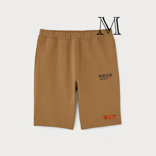 H&M - blackeyepatch × H&M  ベージュハーフパンツMサイズ