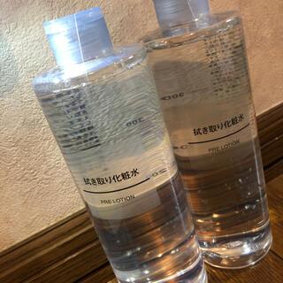 MUJI (無印良品) - 無印良品拭き取り化粧水400ml大容量2本