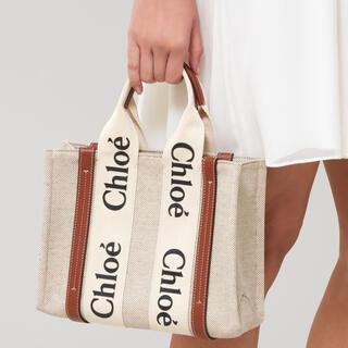 Chloe - Chloe クロエ woody トートバッグ ミニバッグ