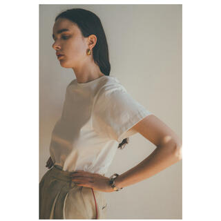 CLANE クラネ SCOOP SLEEVE COMPACT TOPS