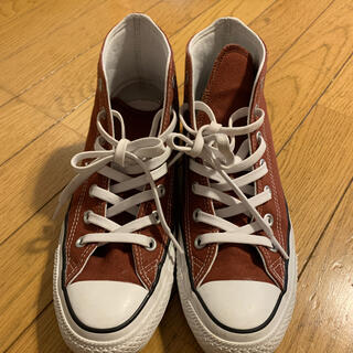 CONVERSE - 【美品】コンバース ブラウン 24.5cm