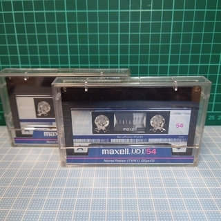 maxell - maxell  UDⅠ 54  カセットテープ54分・2本(NORMAL)