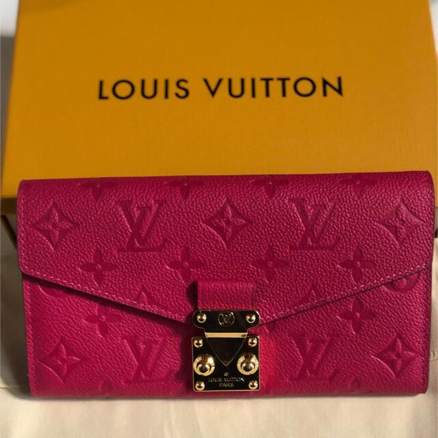 LOUIS VUITTON(ルイヴィトン)のルイヴィトン ポルトフォイユーメティス 長財布 ピンク ヴィトン レディースのファッション小物(財布)の商品写真