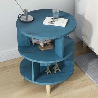 ベッドサイドテーブル 置台 .サイドテーブル ナイトテーブル 高級感 アンティー(ローテーブル)