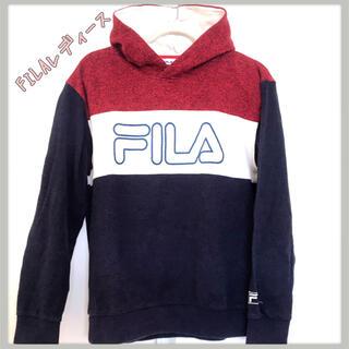 FILA - ☆フィラFILAレディースパーカーused☆Lサイズ
