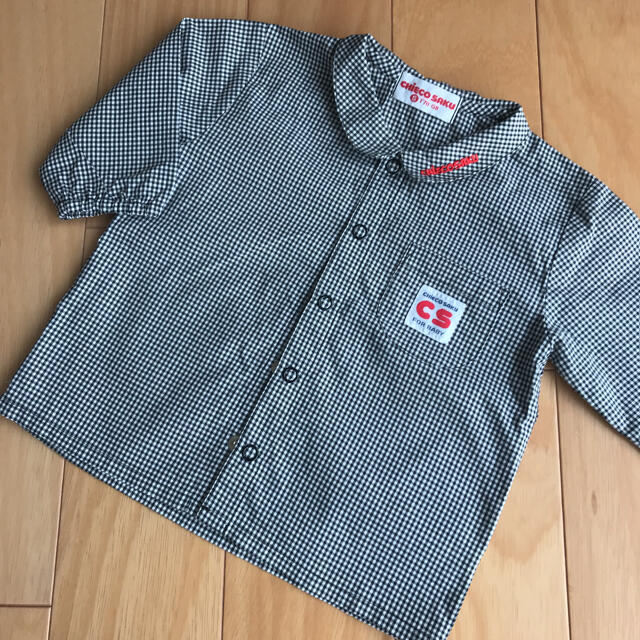 mikihouse(ミキハウス)の«美品»ミキハウス MIKIHOUSE チエコサク オールドミキハウス シャツ キッズ/ベビー/マタニティのベビー服(~85cm)(シャツ/カットソー)の商品写真
