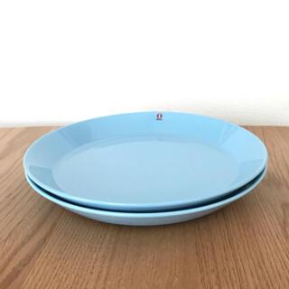 イッタラ(iittala)のイッタラ☆ティーマ☆26cmプレート2枚☆ライトブルー☆廃盤(食器)