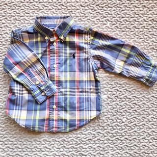 Ralph Lauren - ラルフローレン チェックシャツ 80 ポロ キッズ
