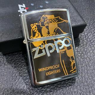 ジッポー(ZIPPO)の【ZIPPO】WINDY WINDPROOF ウィンディ ライター 箱付き(タバコグッズ)