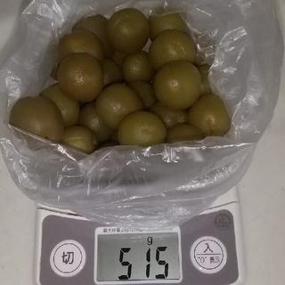 梅酒の梅の実  約500g+しわしわ梅約200g+ブランデー梅約200g(漬物)