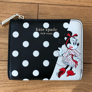 ケイトスペードニューヨーク(kate spade new york)のケイトスペード ディズニーミニーちゃん❤︎二つ折り財布❤︎新品タグ付き(その他)