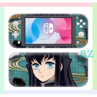 Nintendo Switch - 〖新品〗鬼滅の刃 任天堂SwitchLite 保護スキンシール《 無一郎 》
