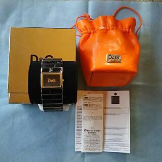 ドルチェアンドガッバーナ(DOLCE&GABBANA)のD&G ドルチェ&ガッバーナ ドルガバ ブレスレット 型  腕時計(腕時計)