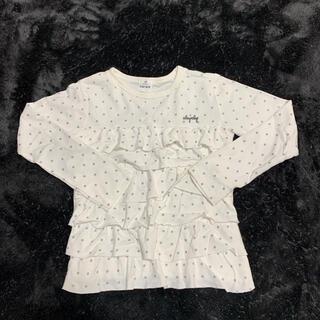 ベベ(BeBe)のロンT トップス 130㎝ 未使用品(Tシャツ/カットソー)