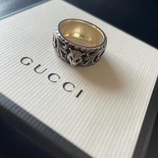 Gucci - GUCCI キャッドヘッド シルバーリング