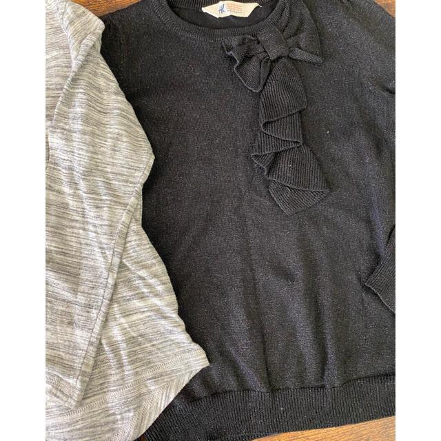 H&M(エイチアンドエム)のまとめ売り 130/140/150 キッズ/ベビー/マタニティのキッズ服女の子用(90cm~)(その他)の商品写真