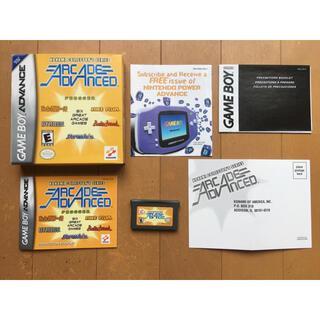 ゲームボーイアドバンス(ゲームボーイアドバンス)の日本未発売 箱付コナミアーケードアドバンス 北米版(携帯用ゲームソフト)
