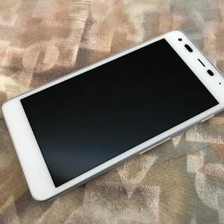 京セラ - 美品 softbank 602kc digno g ホワイト simフリー