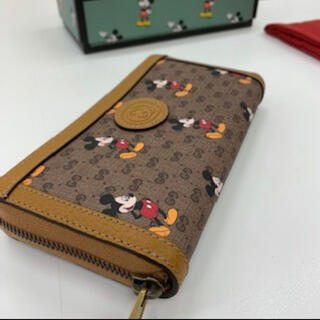 Gucci - 【新品未使用】GUCCI×ディズニーコラボ大人気!長財布