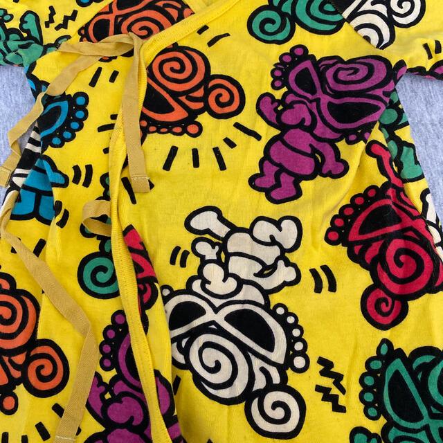 HYSTERIC MINI(ヒステリックミニ)のhysteric mini カバーオール美品帽子付き最終値下げ キッズ/ベビー/マタニティのベビー服(~85cm)(ロンパース)の商品写真