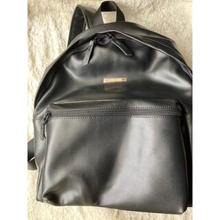 【ReZARDMetal plate Leather Backpack リュック