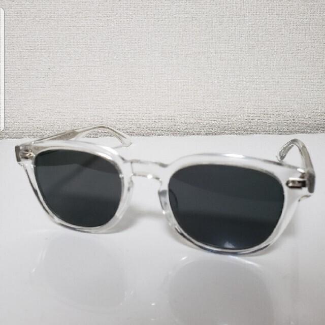 Ayame(アヤメ)のアイバンEYEVAN Webb-sun クリア メンズのファッション小物(サングラス/メガネ)の商品写真