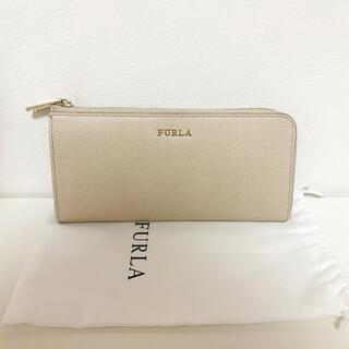 Furla - FURLA 長財布 ベージュ