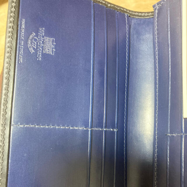 WHITEHOUSE COX(ホワイトハウスコックス)の【新品未使用】White house Cox 長財布 メンズのファッション小物(長財布)の商品写真