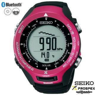 セイコー(SEIKO)のSEIKOアルピニスト SBEL003 新品・未使用【登山・トレッキング】(腕時計(デジタル))