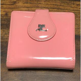 クレージュ(Courreges)のクレージュ vintage pink wallet(財布)