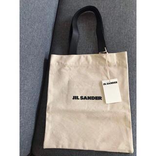ジルサンダー(Jil Sander)のJil Sander ロゴ キャンバストートバッグ(トートバッグ)