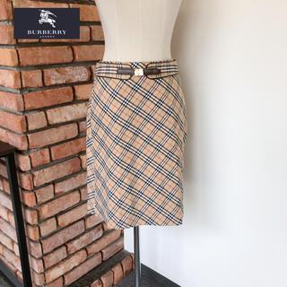 BURBERRY BLUE LABEL - 未使用 バーバリー ロンドン スカート 替えベルト付 38