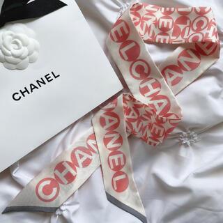 シャネル(CHANEL)の新品 シャネル スカーフ ツイリー(ヘアバンド)