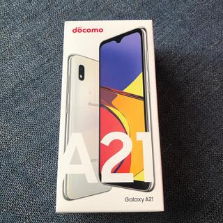 Galaxy - 新品 GALAXY A21 本体 ホワイト