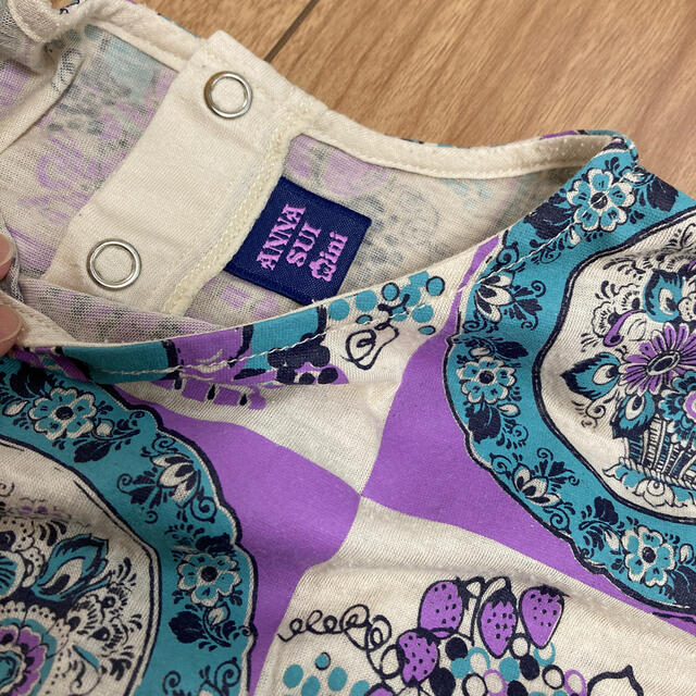 ANNA SUI mini(アナスイミニ)の値下げ ANNA SUI mini Tシャツ 120 キッズ/ベビー/マタニティのキッズ服女の子用(90cm~)(Tシャツ/カットソー)の商品写真