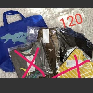 ハッカキッズ(hakka kids)のハッカキッズ2021年福袋 120cm 抜き取りなし 恐竜の袋はつきません(ジャケット/上着)