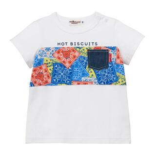 mikihouse - ミキハウス ホットビスケッツ120cm 半袖Tシャツ(72-5201-386)