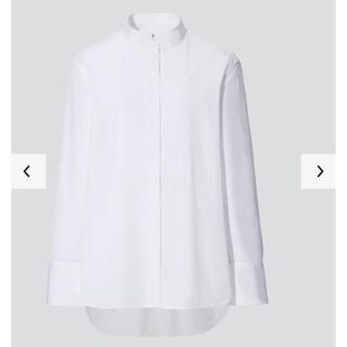Jil Sander - スーピマコットンタックシャツ(長袖)