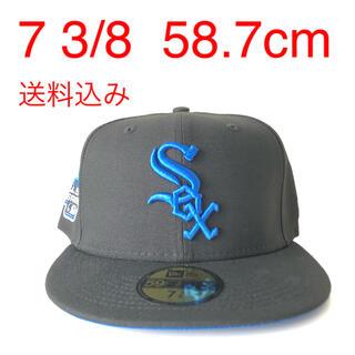 ニューエラー(NEW ERA)のNew Era Cap ツバ裏ブルー 3/8 ニューエラ ホワイトソックス 帽子(キャップ)