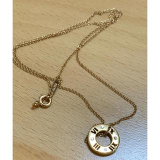 Tiffany & Co. - 超美品【Tiffany  ティファニー】アトラス 18k ネックレス
