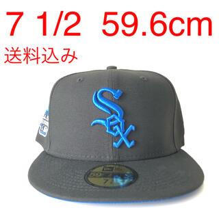 ニューエラー(NEW ERA)のNew Era Cap ツバ裏ブルー 1/2 ニューエラ ホワイトソックス 帽子(キャップ)