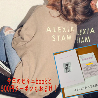 ALEXIA STAM - alexiastam 即完売 バックロゴスウェット
