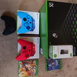 エックスボックス(Xbox)のxbox series x SSD、コントローラーセット(家庭用ゲーム機本体)