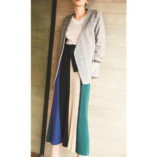 Mila Owen - 美品✨ ミラオーウェン スカート ボーダー ブルー Sサイズ お値下げしました