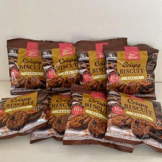 モリナガセイカ(森永製菓)の森永製菓 クリスピービスケット おやつ チョコレート ダイエット 食物繊維(菓子/デザート)